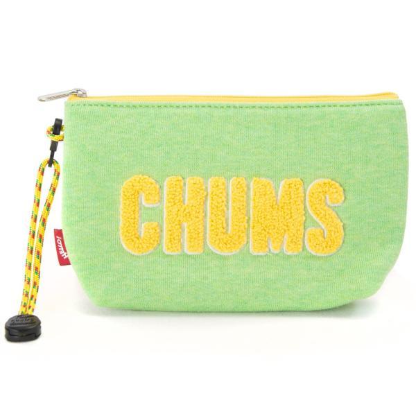 チャムス CHUMS ポーチ Little Pouch Sweat リトルポーチ スウェット|2m50cm|21