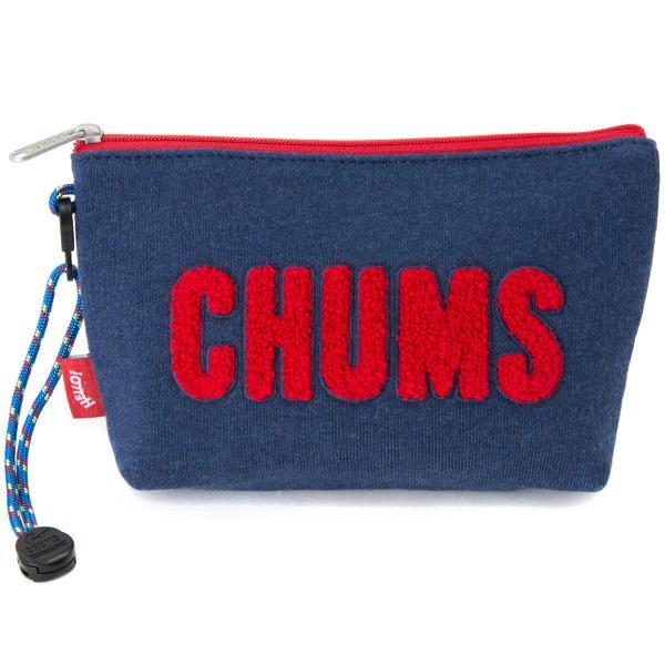 チャムス CHUMS ポーチ Little Pouch Sweat リトルポーチ スウェット|2m50cm|19
