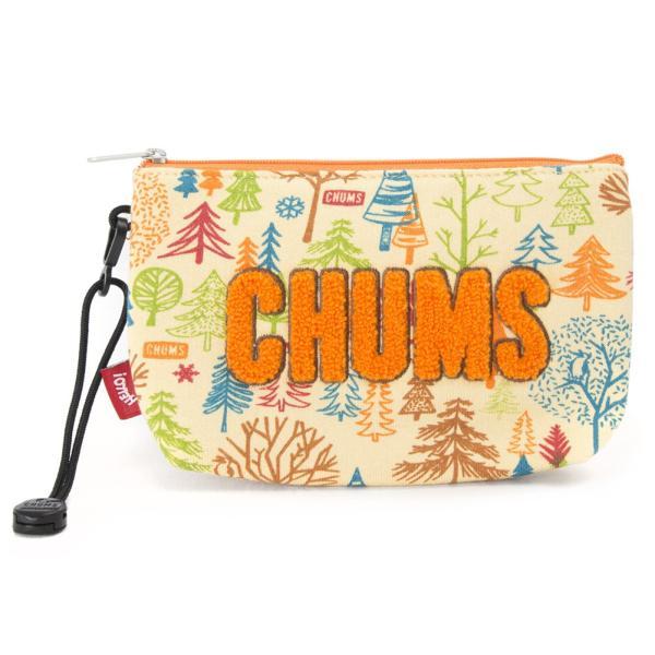 チャムス CHUMS ポーチ Little Pouch Sweat リトルポーチ スウェット|2m50cm|23