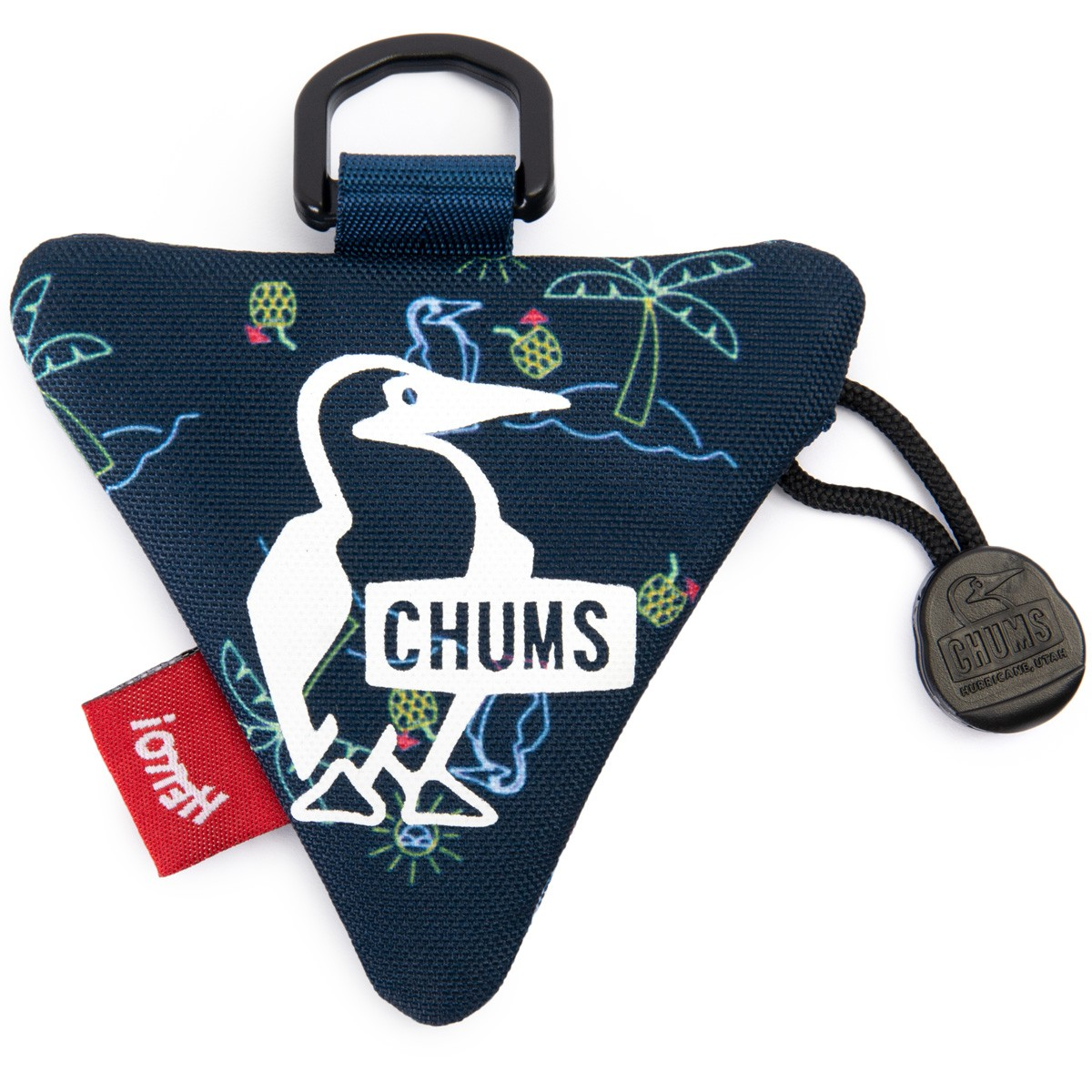 CHUMS ECO TRIANGLE COIN CASE