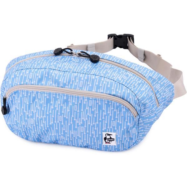 チャムス CHUMS ウエストパック Eco Oval Waist Pack ボディバッグ|2m50cm|24