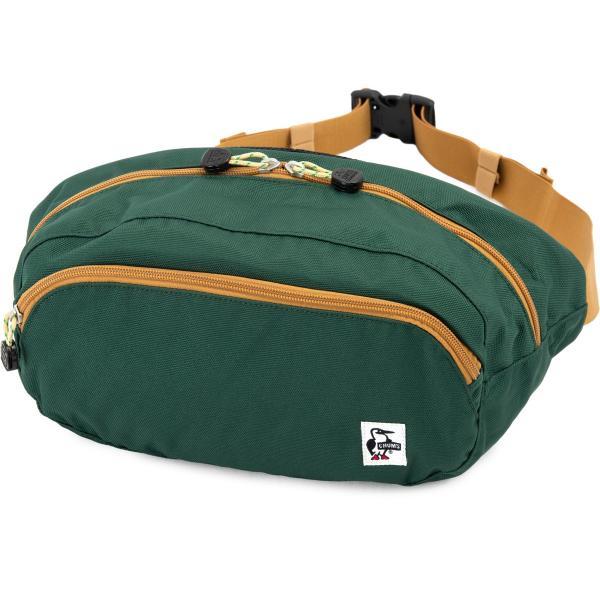 チャムス CHUMS ウエストパック Eco Oval Waist Pack ボディバッグ|2m50cm|21