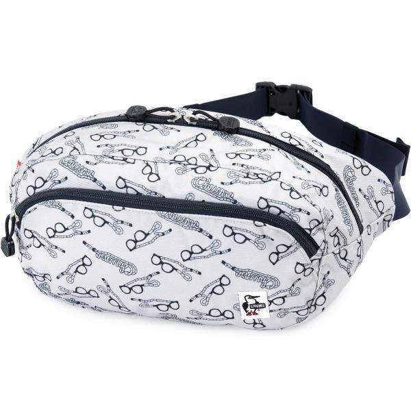 チャムス CHUMS ウエストパック Eco Oval Waist Pack ボディバッグ|2m50cm|25