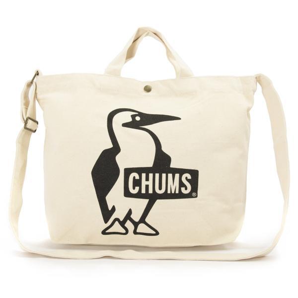 CHUMS チャムス ショルダーバッグ ブービー キャンバス ショルダー booby canvas shoulder|2m50cm|12