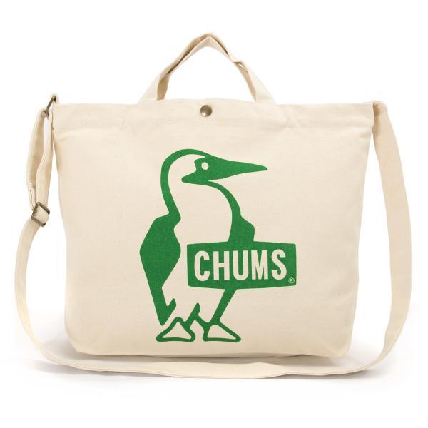 CHUMS チャムス ショルダーバッグ ブービー キャンバス ショルダー booby canvas shoulder|2m50cm|14