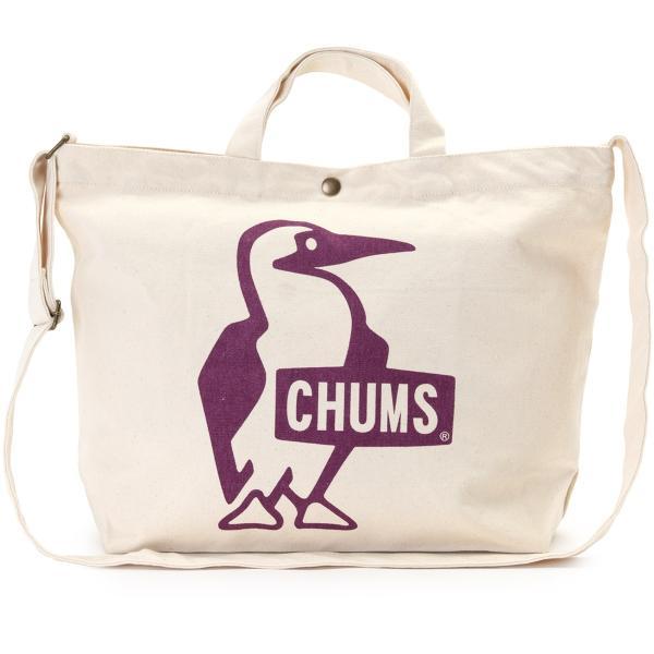 CHUMS チャムス ショルダーバッグ ブービー キャンバス ショルダー booby canvas shoulder|2m50cm|17