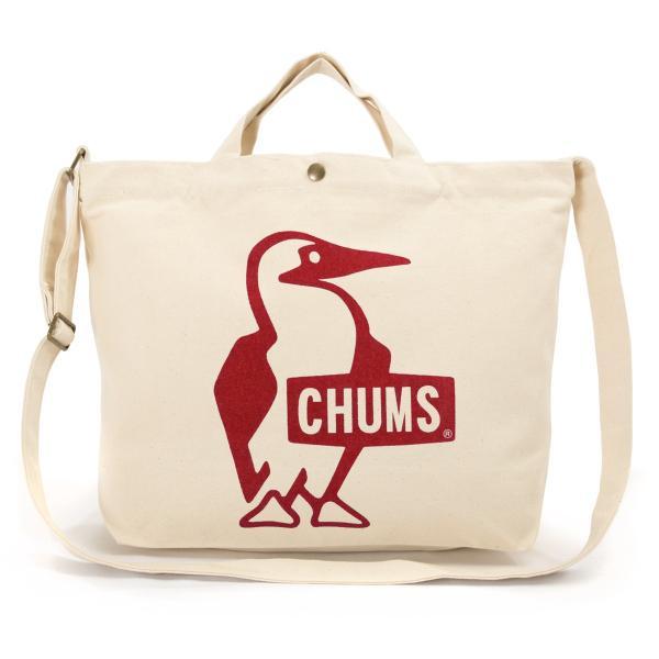 CHUMS チャムス ショルダーバッグ ブービー キャンバス ショルダー booby canvas shoulder|2m50cm|15