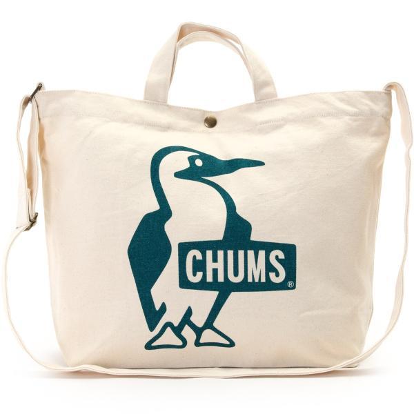 CHUMS チャムス ショルダーバッグ ブービー キャンバス ショルダー booby canvas shoulder|2m50cm|16