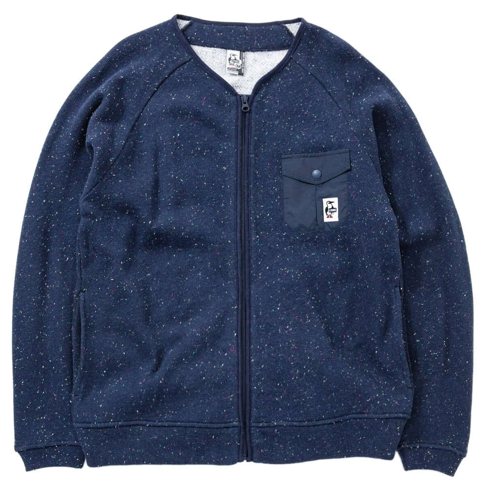 CHUMS Ogden Sweat Zip Up Top