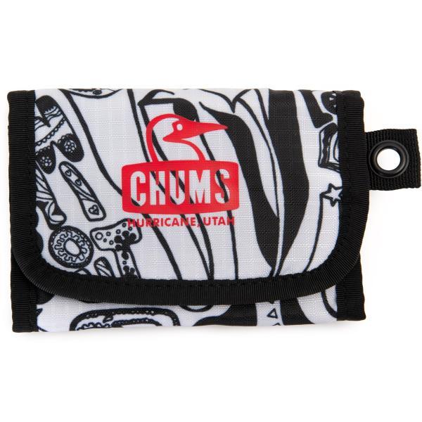 財布 チャムス CHUMS Spring Dale Trifold Wallet スプリングデールトリフォルドウォレット|2m50cm|17