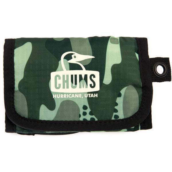 財布 チャムス CHUMS Spring Dale Trifold Wallet スプリングデールトリフォルドウォレット|2m50cm|16