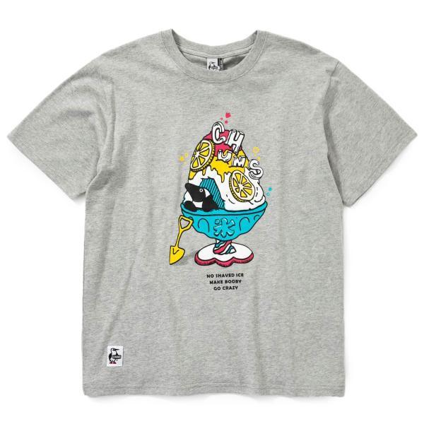 Tシャツ CHUMS Shaved Ice T-Shirt チャムス シェイブドアイス|2m50cm|14