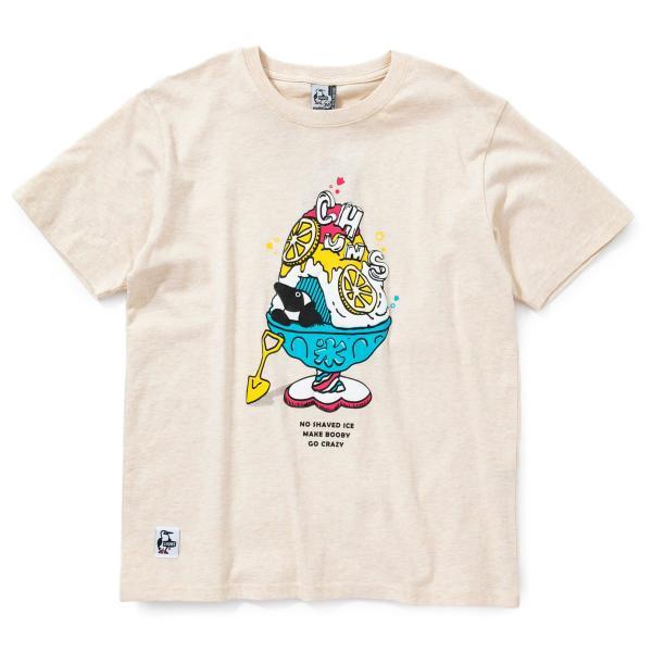 Tシャツ CHUMS Shaved Ice T-Shirt チャムス シェイブドアイス|2m50cm|13