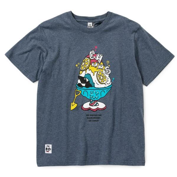 Tシャツ CHUMS Shaved Ice T-Shirt チャムス シェイブドアイス|2m50cm|15