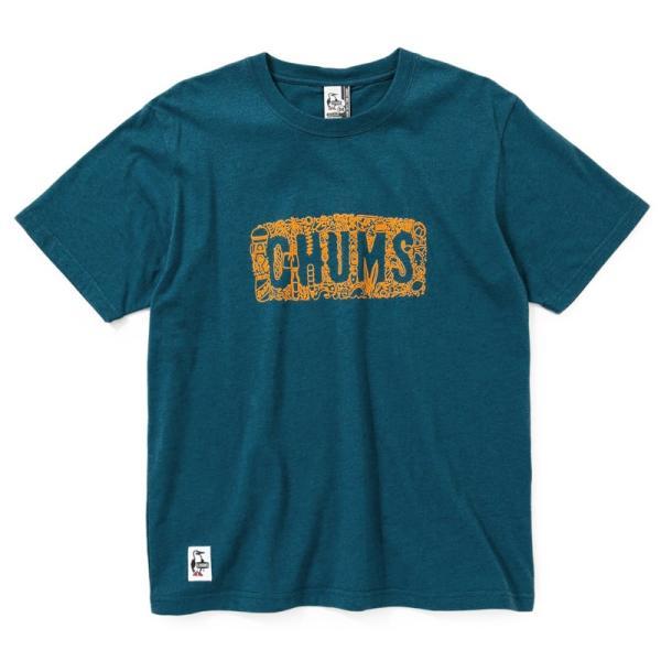 CHUMS Beach T-Shirt チャムス ビーチ Tシャツ|2m50cm|11
