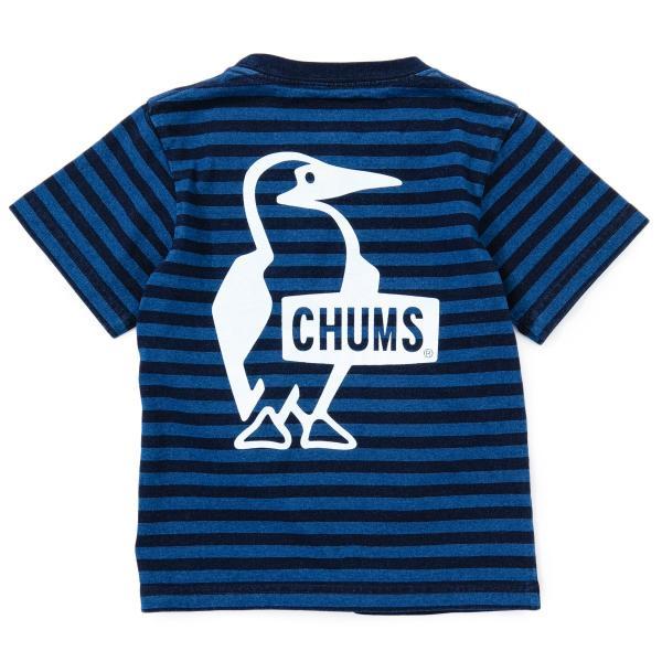 CHUMS チャムス キッズ Tシャツ Kid's Booby Logo T-Shirt|2m50cm|10