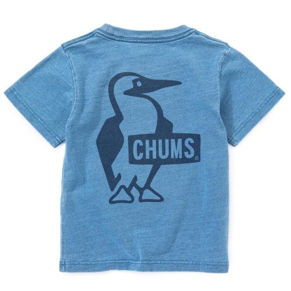 CHUMS チャムス キッズ Tシャツ Kid's Booby Logo T-Shirt|2m50cm|08