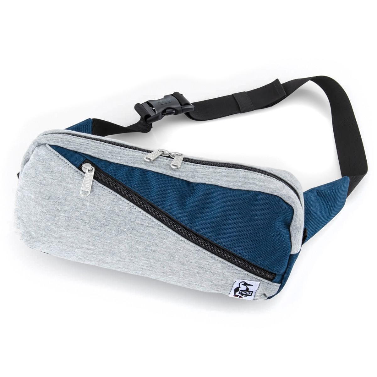CHUMS Square Waist Bag Sweat Nylon