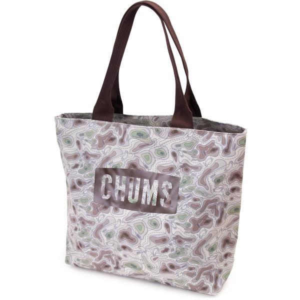 トートバッグ チャムス ロゴ トート Eco CHUMS Logo Tote Bag|2m50cm|12