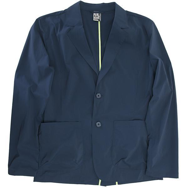 ジャケット CHUMS チャムス Nylon Tailored Jacket ナイロン テーラードジャケット 2m50cm 10