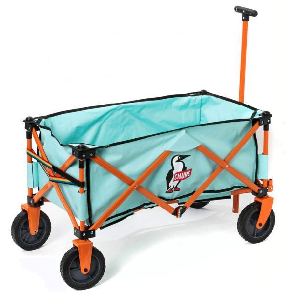 ワゴン CHUMS チャムス Happy Camping Folding Wagon|2m50cm|13