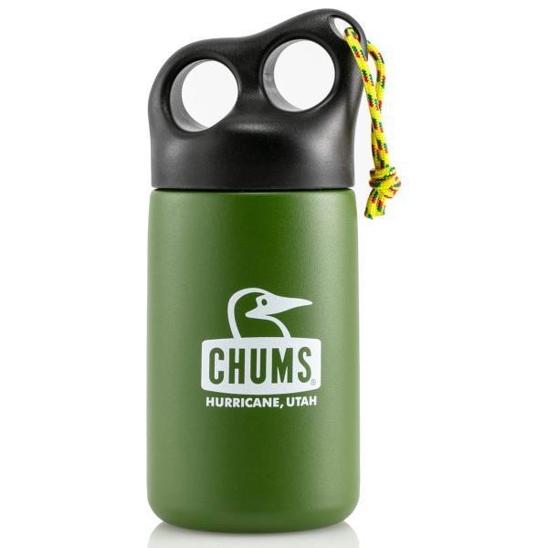 CHUMS チャムス 保温 タンブラー Camper Stainless Bottle キャンパー ステンレス ボトル 320ml|2m50cm|22