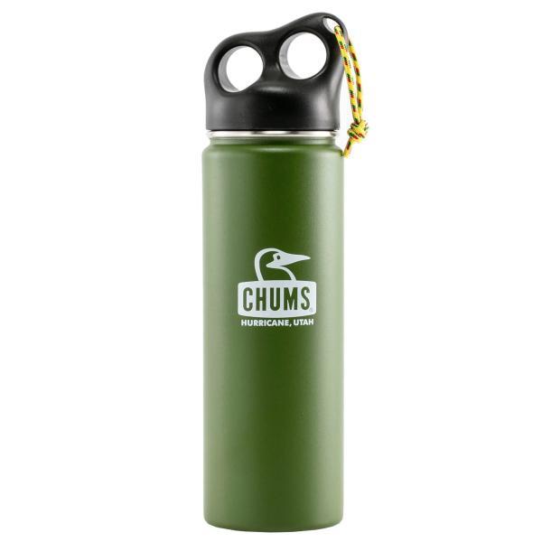 保温 タンブラー チャムス CHUMS キャンパー ステンレス ボトル 650ml|2m50cm|15