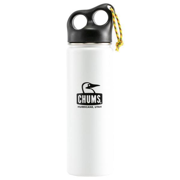 保温 タンブラー チャムス CHUMS キャンパー ステンレス ボトル 650ml|2m50cm|10
