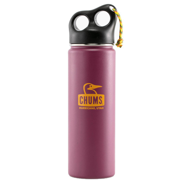 保温 タンブラー チャムス CHUMS キャンパー ステンレス ボトル 650ml|2m50cm|12