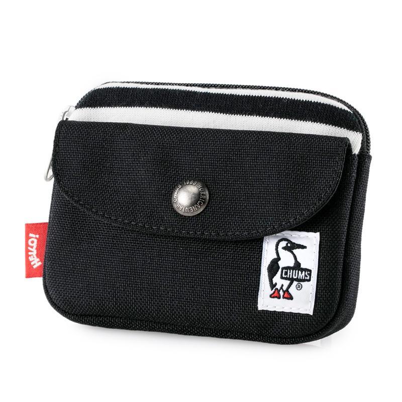 CHUMS チャムス 財布 Pocket Size Wallet Sweat Nylon ポケットサイズ ウォレット スウェットナイロン 2m50cm 20