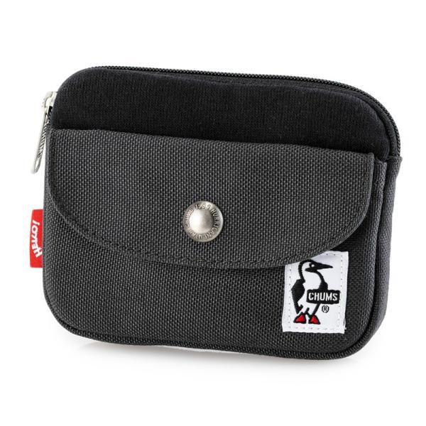 CHUMS チャムス 財布 Pocket Size Wallet Sweat Nylon ポケットサイズ ウォレット スウェットナイロン|2m50cm|16