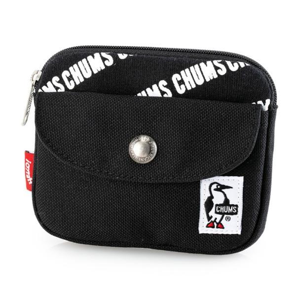 CHUMS チャムス 財布 Pocket Size Wallet Sweat Nylon ポケットサイズ ウォレット スウェットナイロン|2m50cm|22