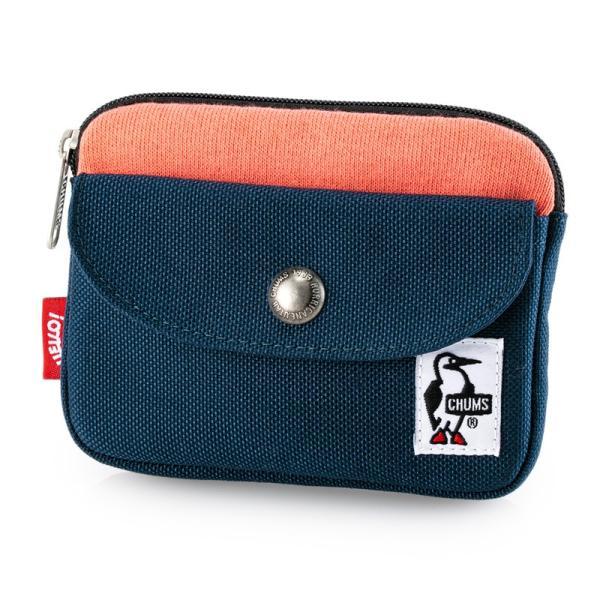 CHUMS チャムス 財布 Pocket Size Wallet Sweat Nylon ポケットサイズ ウォレット スウェットナイロン|2m50cm|20