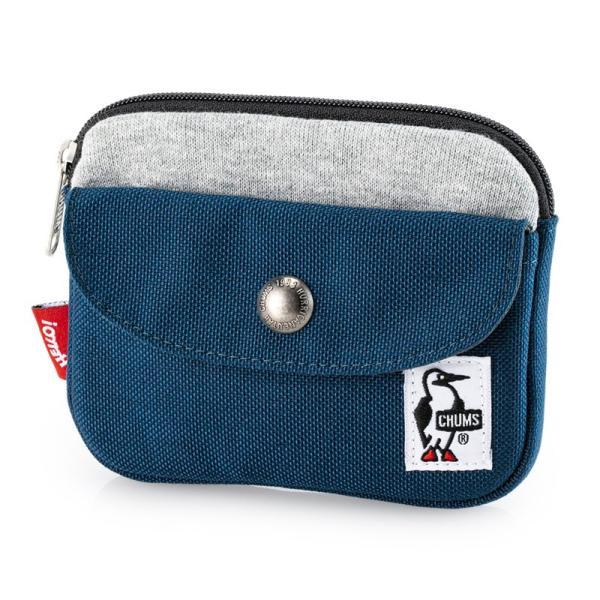 CHUMS チャムス 財布 Pocket Size Wallet Sweat Nylon ポケットサイズ ウォレット スウェットナイロン|2m50cm|17