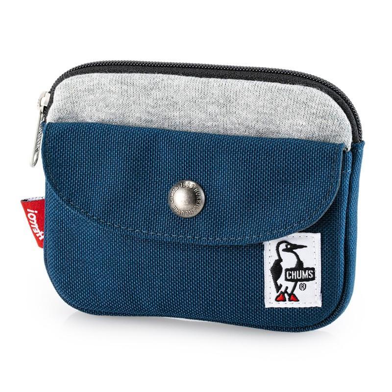 CHUMS チャムス 財布 Pocket Size Wallet Sweat Nylon ポケットサイズ ウォレット スウェットナイロン 2m50cm 17