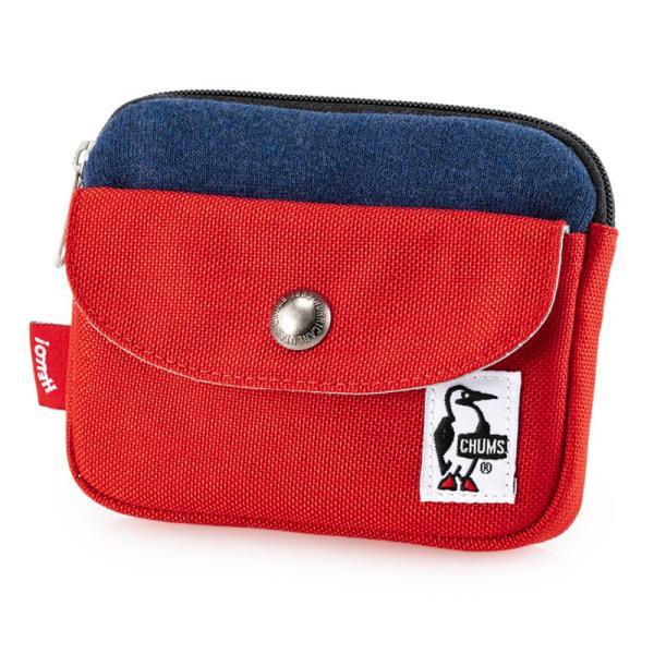 CHUMS チャムス 財布 Pocket Size Wallet Sweat Nylon ポケットサイズ ウォレット スウェットナイロン|2m50cm|18