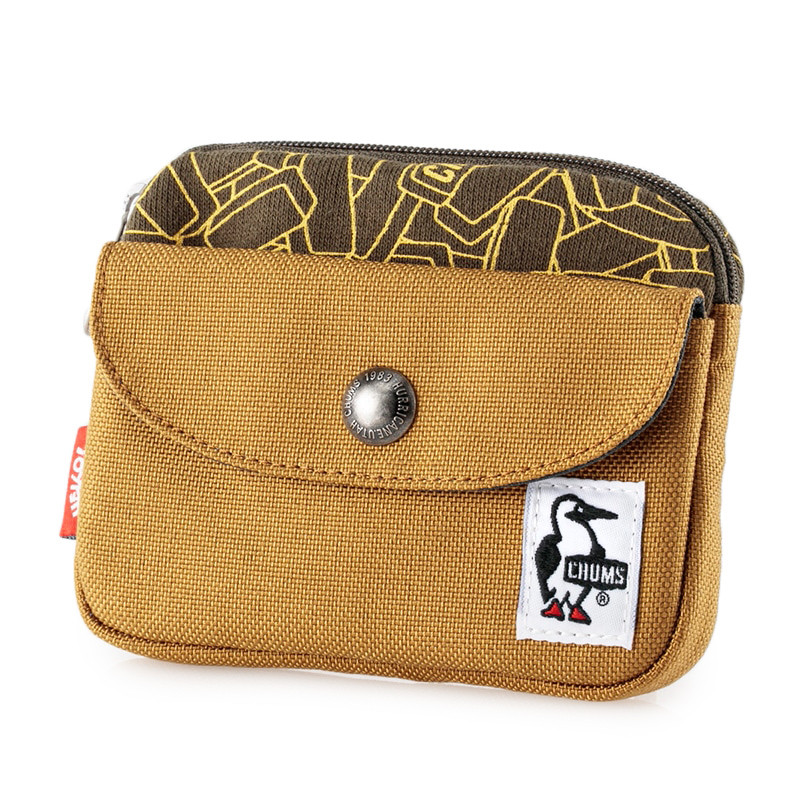 CHUMS チャムス 財布 Pocket Size Wallet Sweat Nylon ポケットサイズ ウォレット スウェットナイロン 2m50cm 22