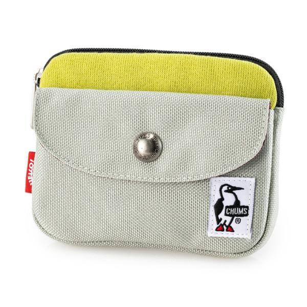 CHUMS チャムス 財布 Pocket Size Wallet Sweat Nylon ポケットサイズ ウォレット スウェットナイロン|2m50cm|19