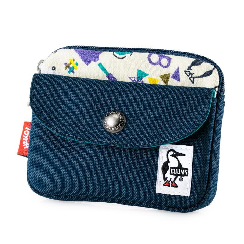 CHUMS チャムス 財布 Pocket Size Wallet Sweat Nylon ポケットサイズ ウォレット スウェットナイロン 2m50cm 21
