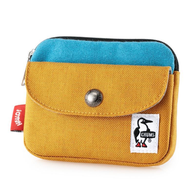 CHUMS チャムス 財布 Pocket Size Wallet Sweat Nylon ポケットサイズ ウォレット スウェットナイロン 2m50cm 19