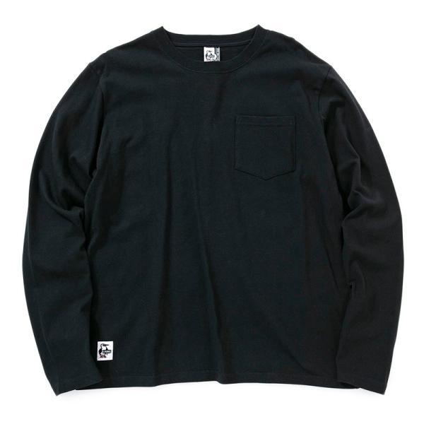 チャムス CHUMS Utah Pocket L/S T-Shirt ユタ ポケット ロングTシャツ 2m50cm 11