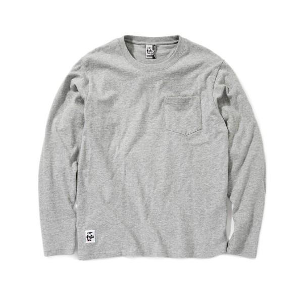 チャムス CHUMS Utah Pocket L/S T-Shirt ユタ ポケット ロングTシャツ 2m50cm 09
