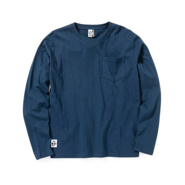 チャムス CHUMS Utah Pocket L/S T-Shirt ユタ ポケット ロングTシャツ 2m50cm 10