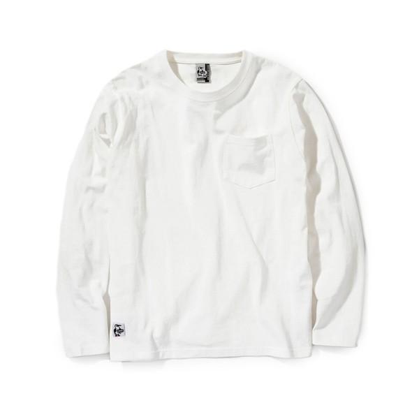 チャムス CHUMS Utah Pocket L/S T-Shirt ユタ ポケット ロングTシャツ 2m50cm 08