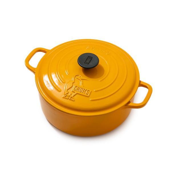 CHUMS チャムス Color Dutch Oven 10 inch カラー ダッチオーブン 10インチ 両手鍋 26cm|2m50cm|08