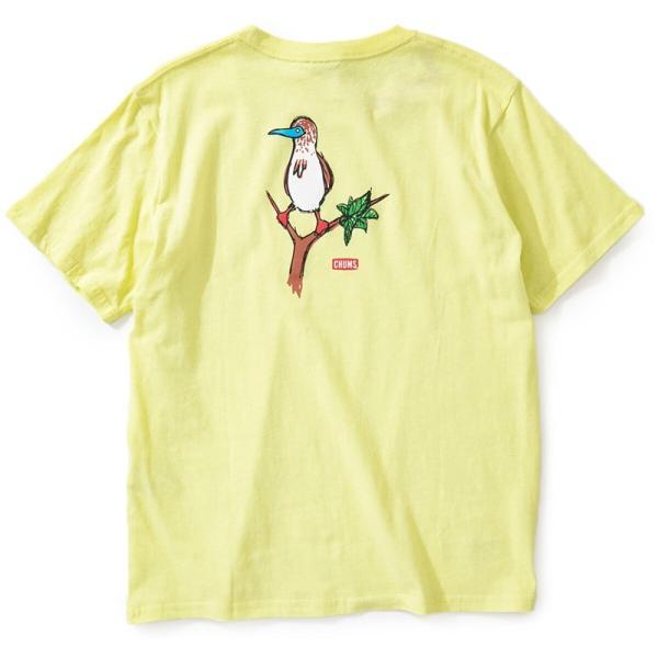 CHUMS チャムス Tシャツ Booby on the tree T-Shirt ブービー オンザツリー Tシャツ 半袖|2m50cm|11