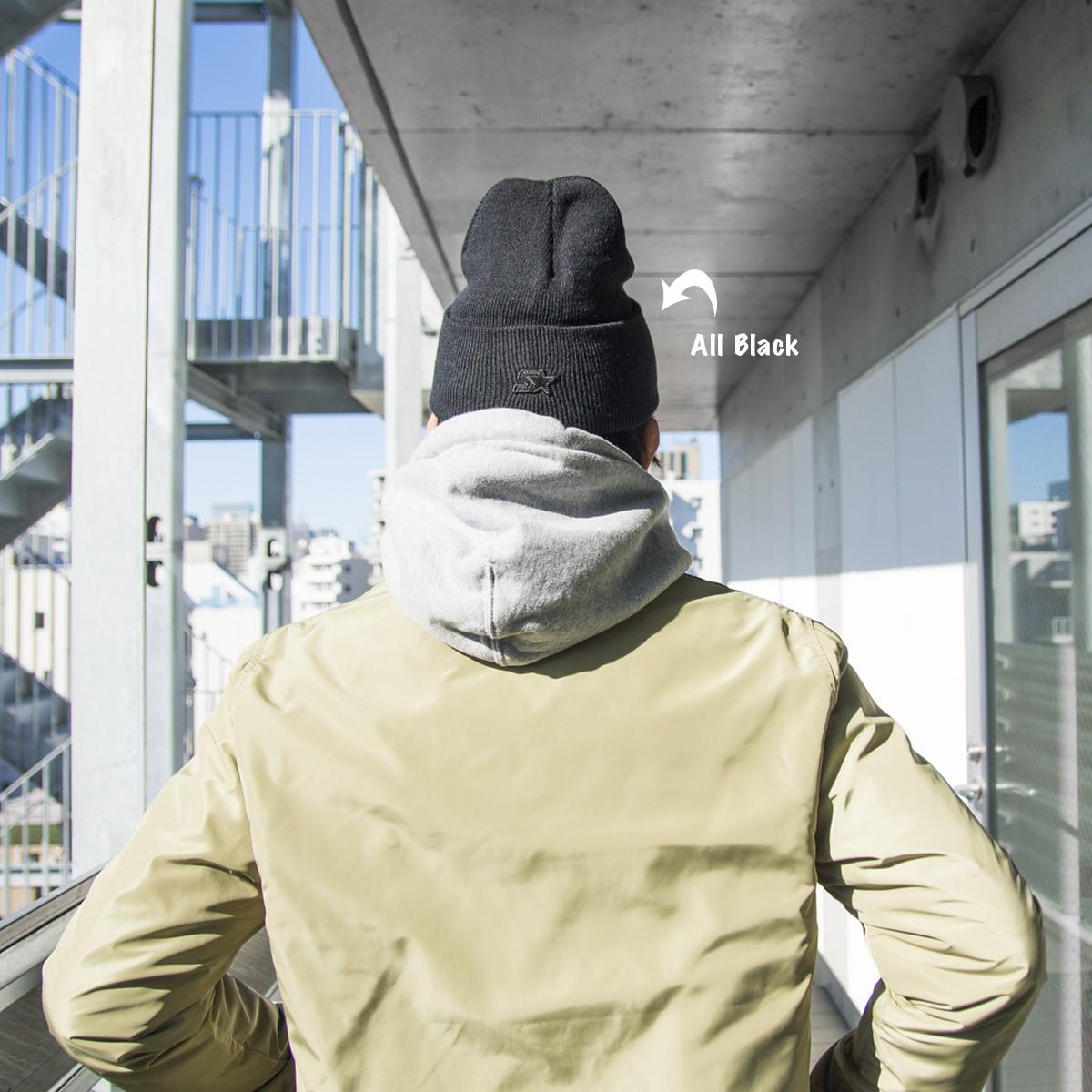 CHROME LOGO KNIT CAP