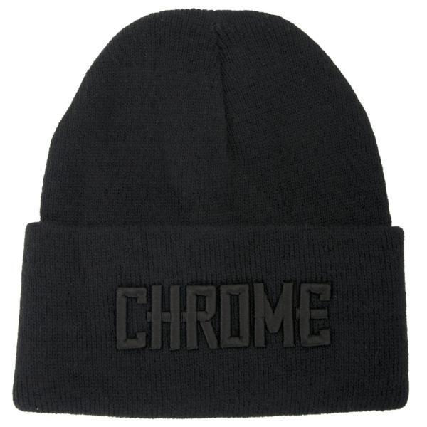 CHROME クローム LOGO KNIT CAP ロゴ ニット キャップ|2m50cm|13