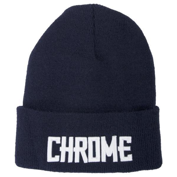 CHROME クローム LOGO KNIT CAP ロゴ ニット キャップ|2m50cm|14