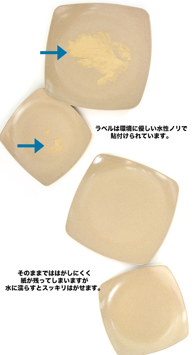 EcoSouLife Square Plate
